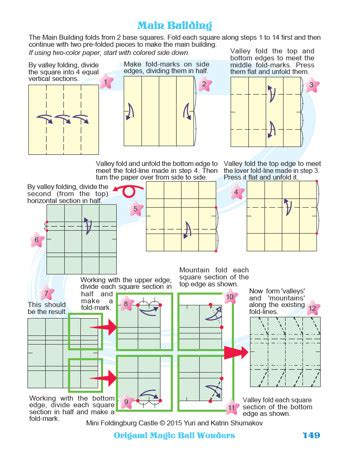 Origami Magic Diagram Pdf - oriland origami magic wonders