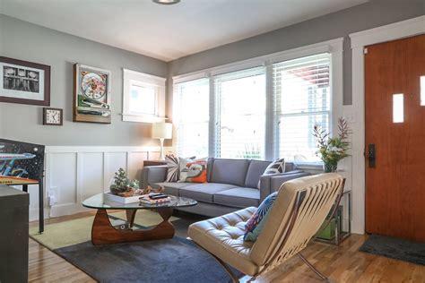Vintage Livingroom visite une maison avec le juste m 233 lange de moderne et de