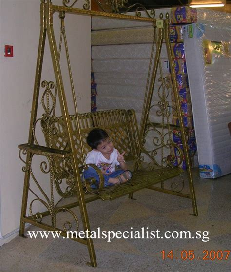 garden swing singapore wrought iron gate singapore hdb joy studio design