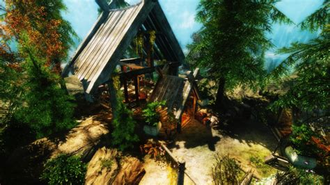 cabin in the woods at skyrim nexus mods and community