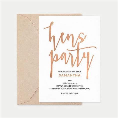 25 best ideas about hens party invitations on pinterest