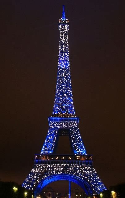 Lit Up by Eiffel Tower Lit Up At