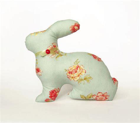 easter bunny home decor green rabbit from vasilinkastore on