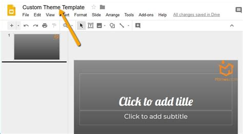 appscare edit the master of an imported theme in google how to create and customize a free theme in google slides