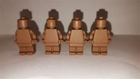 Lego Brown Chocolate chocolate lego set of 8 birthday favor milk