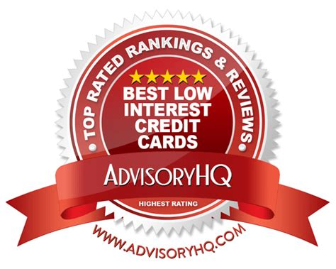 Top 7 Low Interest Credit Cards top 6 best low interest credit cards 2017 ranking low