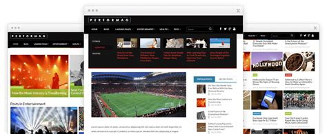 thrive themes gallery performag by thrive themes