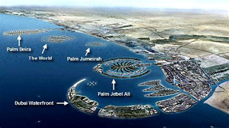 Palm Island Sinking made island in dubai browse info on made island