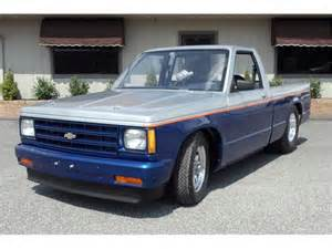 1989 Chevrolet S10 1989 Chevrolet S 10 Information And Photos Momentcar