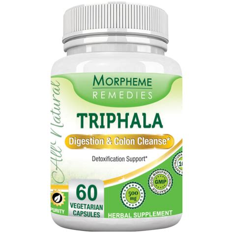 The Benefits Of A Gastrosintestinal Detox by Triphala For Digestion Colon Cleanse Home