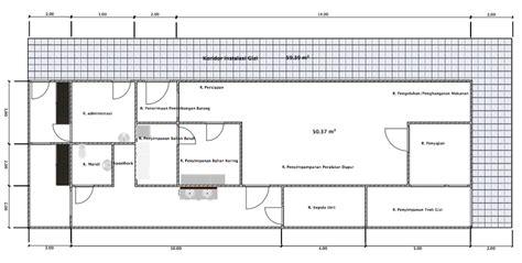 layout dapur rumah sakit tipe a gambar desain interior rumah sakit ibu dan anak