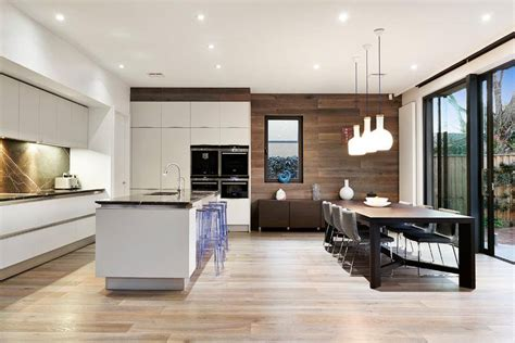 Kitchen And Living Room Spaces Ideal Kitchen Dining And Living Space Combination Idea