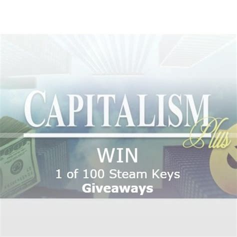 Steam Games Giveaway 2017 - win 1 of 100 capitalism plus steam game giveaway ww mommy comper