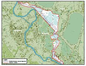 river thames scheme map lower thames strategy