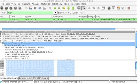 wireshark tutorial network lab csci 363 computer networks labs
