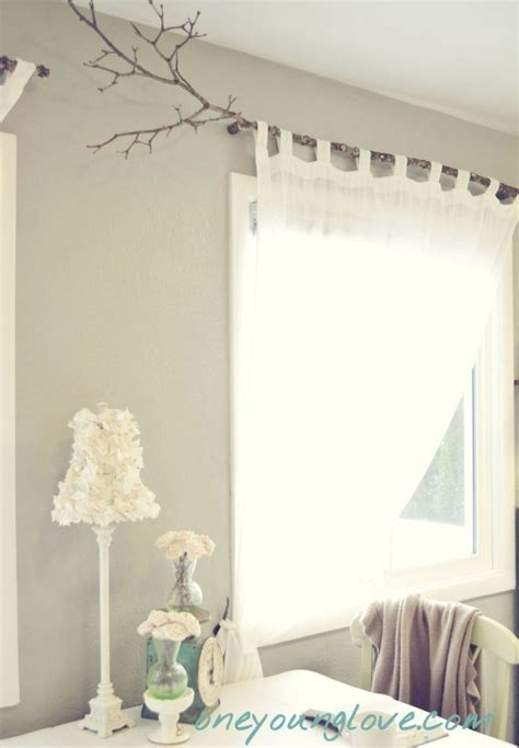 branch curtain rod branch curtain rod home decorating trends homedit