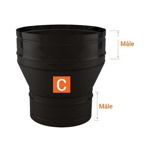 reducteur de cheminee r 233 ducteur tubage chemin 233 e pro noir anthracite 216 160 140