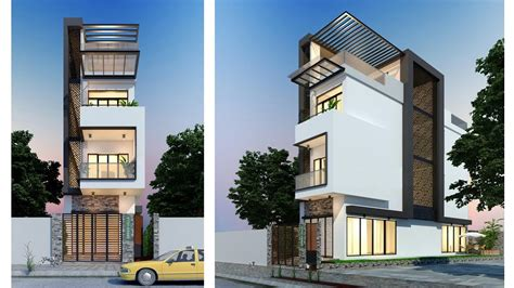 townhouse plans narrow lot townhouse plans narrow lot 4 5x17 2m with 4 bedrooms