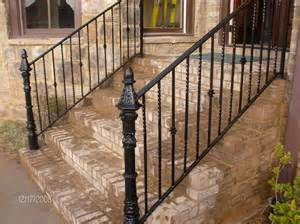 Modern Handrail Hardware Handmade Wrought Iron Railing By Awesome Iron And Steel