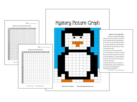 printable mystery graphs free coordinate graphing mystery picture worksheets 1000