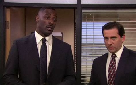 Idris Elba The Office by The Office Stringer Bell Brings The Hammer Vulture