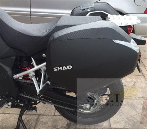 Suzuki V Strom Saddlebags Suzuki V Strom Vstrom 1000 Dl1000 Shad Sh36 Side