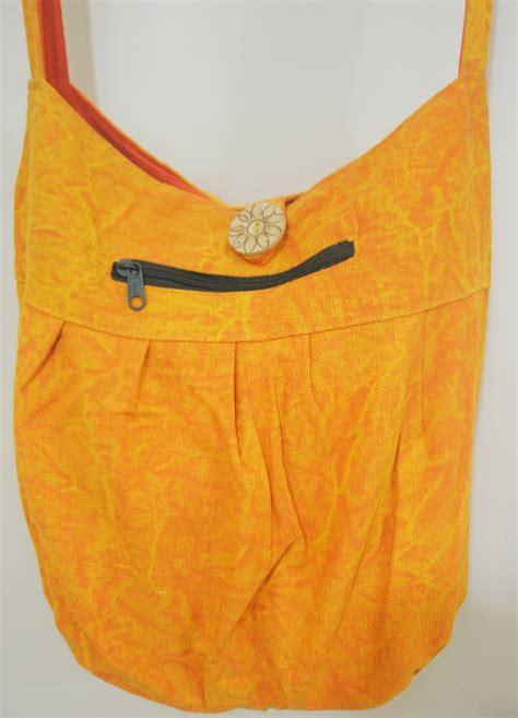 Sling Bag Crossbody Bag Banyak Motif handmade pattern free hippie boho crossbody bag fabric messenger sling bag ethnic retro india