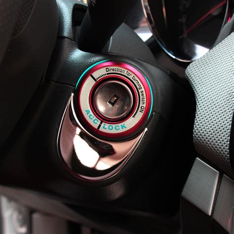 Wallpaper W005 Wallpaper Sticker Limited car ignition switch cover auto car accessories 3d sticker