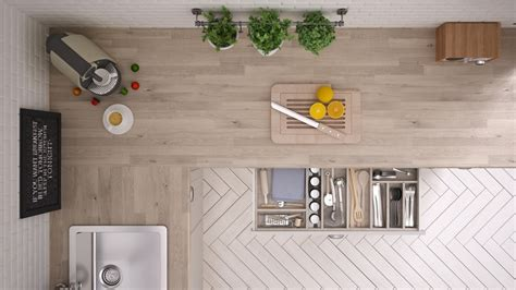 Kitchen View by Simple Sensible Space Saving Hacks Inspired By Tiny Home