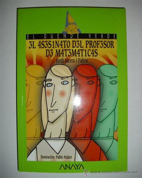 libro el profesor libro el asesinato del profesor de matematicas comprar en todocoleccion 53942414