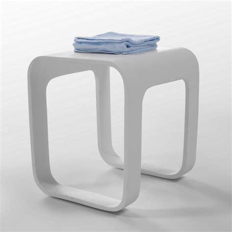 Tabouret De Bain by Tabouret Solid Surface Blanc Strat Tabouret Et Si 232 Ge