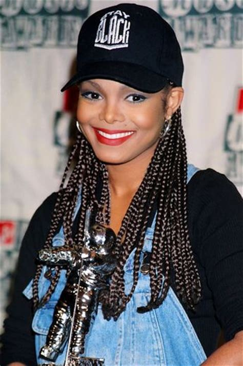 janet jackson braids the most beautiful natural hairstyles in history best