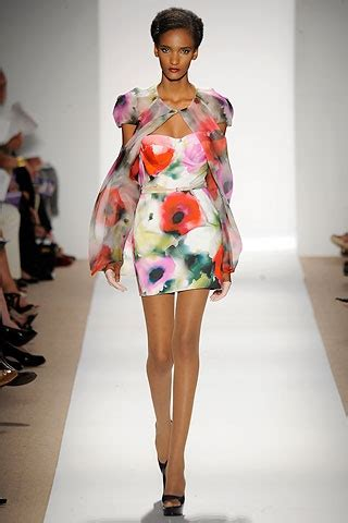 Summer 08 Trends Floral The Catwalk Looks by Floral Prints Trend Summer 2010