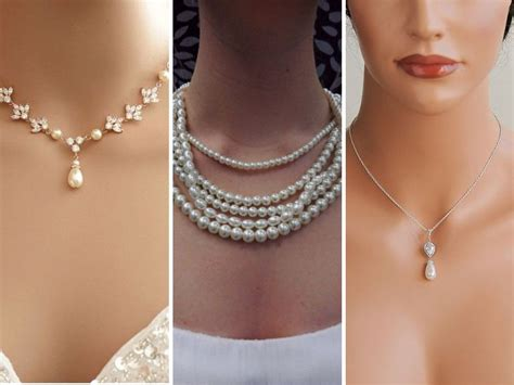 7 Best Necklaces For Your Wedding by Best Wedding Jewelry Ideas And Suggestions For Brides To