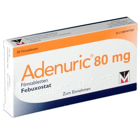 Tablet Glidabet 80 Mg 1 Isi 10 adenuric 80 mg filmtabletten shop apotheke