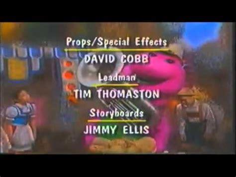 s day credit songs barney s 1 2 3 4 seasons credits 1996