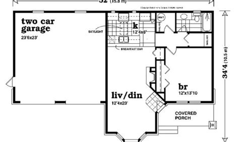unique one story floor plans awesome one story garage apartment floor plans 19 pictures