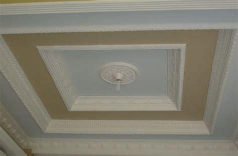 gambar model desain plafon gypsum terbaru interior rumah
