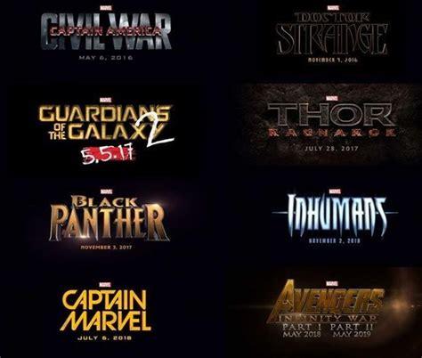 Pelicula Calendario 2012 Calendario De Estrenos De Marvel Hasta 2020 161 9 T 237 Tulos