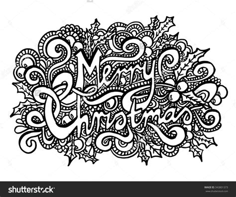 merry coloring pages merry coloring page zentangle colouring