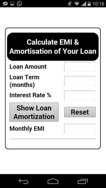 axis bank house loan emi calculator bank da emi calculator download apk for android aptoide