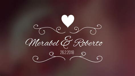 Wedding Titles V3 Premiere Pro Templates On Vimeo Premiere Pro Wedding Title Templates
