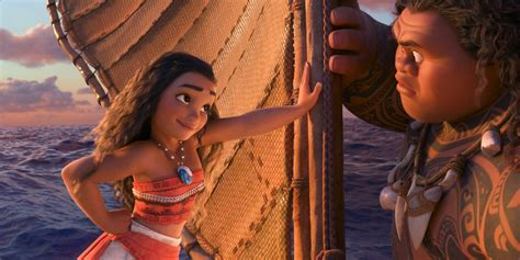 film animation moana moana clip tv spot maui monsters adventure awaits