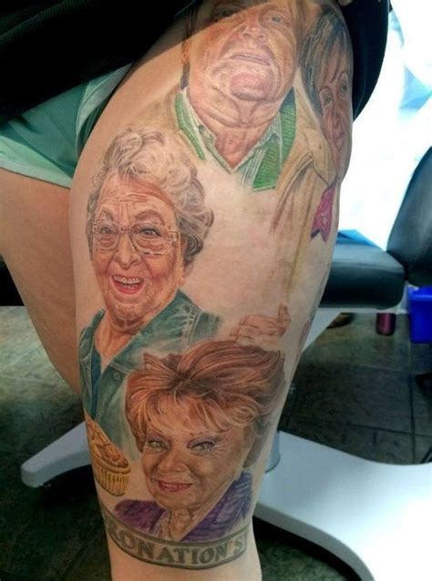 tattoo nightmares ken barlow 21 incredible tattoos inspired by quot eastenders quot and quot corrie quot
