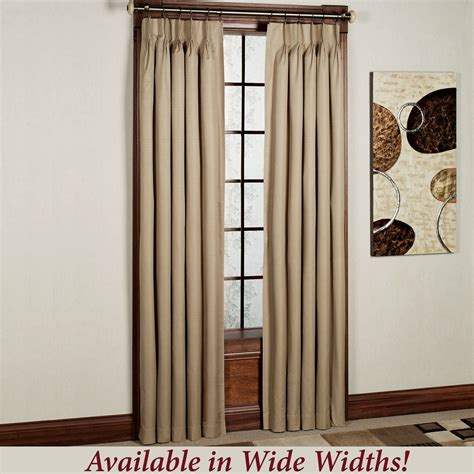 room darkening window treatments crosby pinch pleat thermal room darkening window treatments