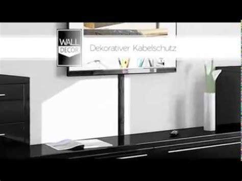 wohnzimmer 4 x 6 kabelkanal wall decor design tv kabelschacht