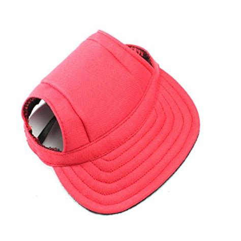 hats with ear holes winomo pet sports hat pet oxford fabric hat sports baseball cap with ear holes