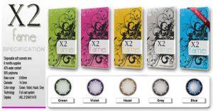 x 2 bio color by optik softlens x2 fame optik vista jakarta