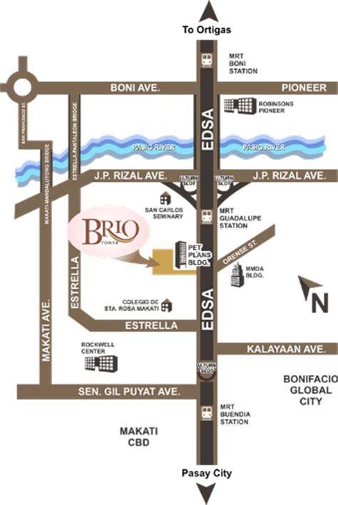 brio location brio tower in makati city dmci homes online