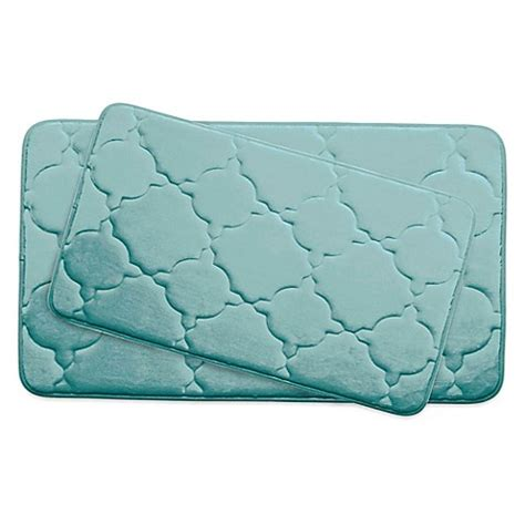 ruby memory foam comfort mat bounce comfort dorothy memory foam 2 bath mat set bed bath beyond